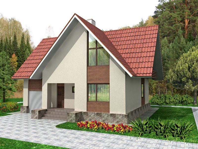 дачный домик из сибита проекты фото